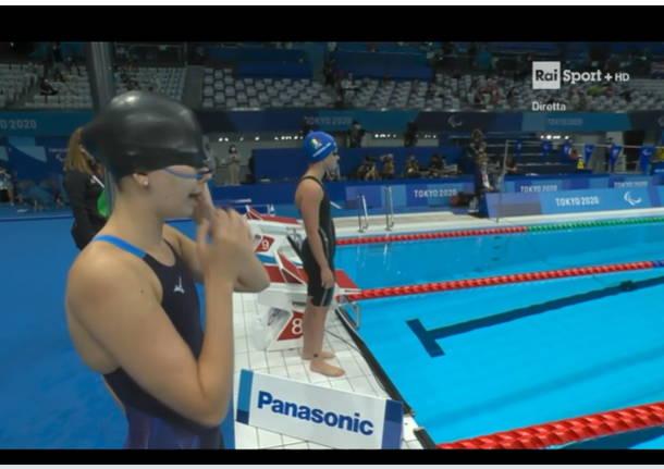 Martina Rabbolini, nuotatrice di Villa Cortese, ancora in finale alle Paralimpiadi