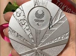 medaglia d'argento paralimpiadi