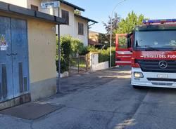Vigili del fuoco Legnano- cabina a Enel