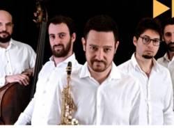 Vittorio Vaccaro quintet sul palco del parco Robinson di Legnano