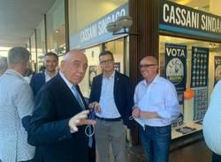 A Gallarate le sorprese di Galliani tra piazza Garibaldi e Parolo