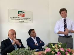 Adriano Galliani a Varese per Matteo Bianchi