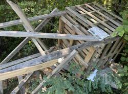 altana distrutta parco pineta 100% animalisti