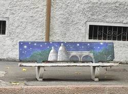 Arcisate - Panchine decorate