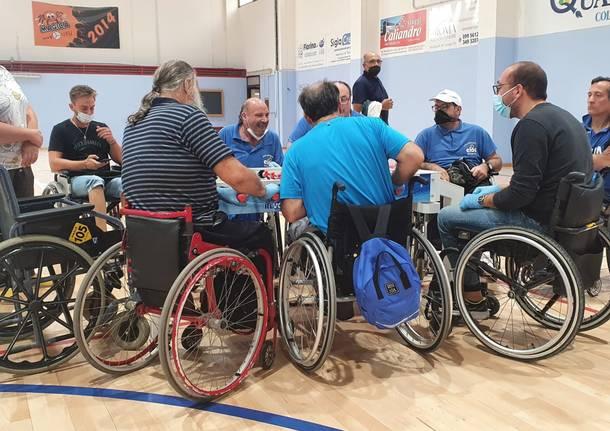 calcio balilla paralimpico