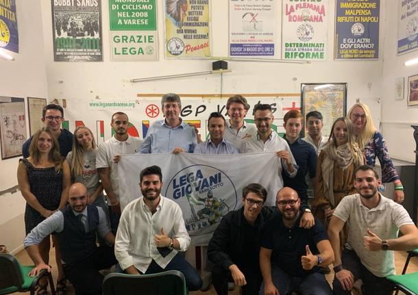 candidati lega giovani elezioni 2021