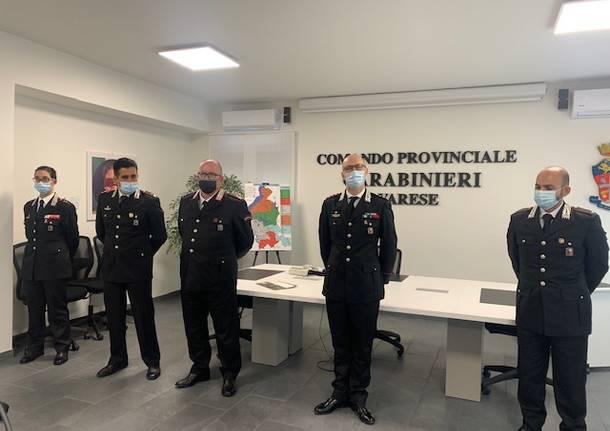 Carabinieri, nuove forze per la provincia di Varese