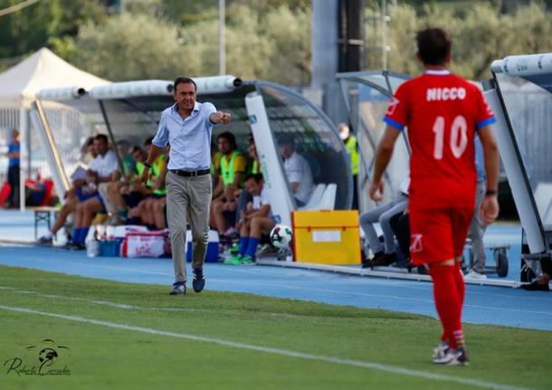 Calcio: Trento - Pro Patria