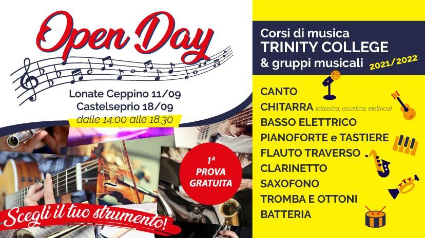 OPEN DAY - LA VERDI MUSICA ARTE & SPETTACOLO A.P.S