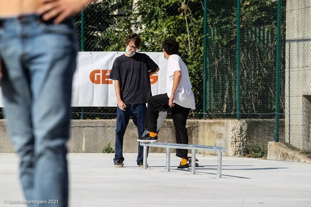 L\'inaugurazione dello skatepark a Varese