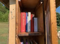 L\'inaugurazione della casetta dei libri