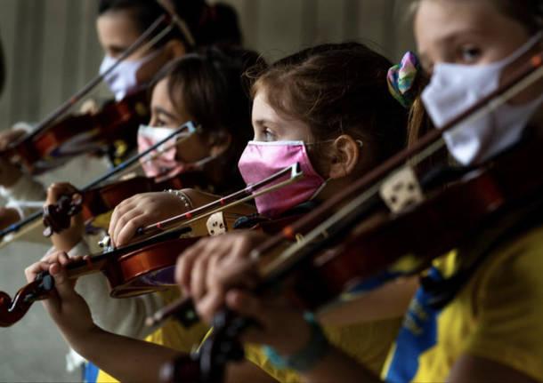 Concerto dei piccoli musicisti del Suzuki Music Center