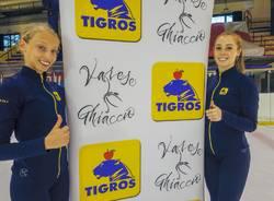 Tigros pattina con la Varese Ghiaccio