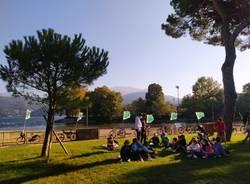 Fridays for future: in riva al lago Maggiore a Luino e Germignaga per chiedere un mondo più attento al clima