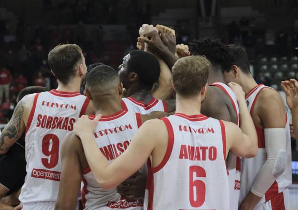 Basket: Openjobmetis Varese - Germani Brescia 75-72