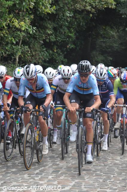La magia del Mondiale di ciclismo nelle Fiandre