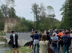 La camminata sulla ciclabile fra Cocquio e Besozzo