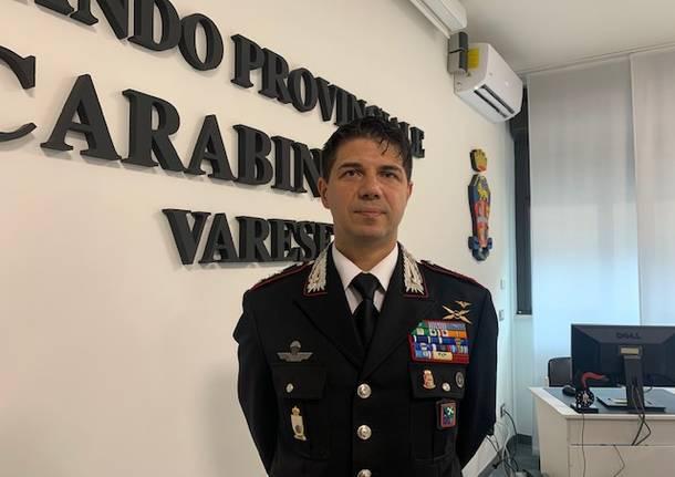 Cambio di vertici al Nucleo investigativo dei carabinieri di Varese