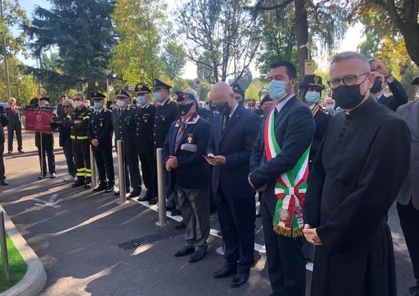 A Legnano inaugurato il monumento ai caduti della Polizia di Stato