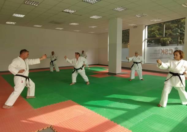 csk busto karate nuova sede sacconago speciale uisp