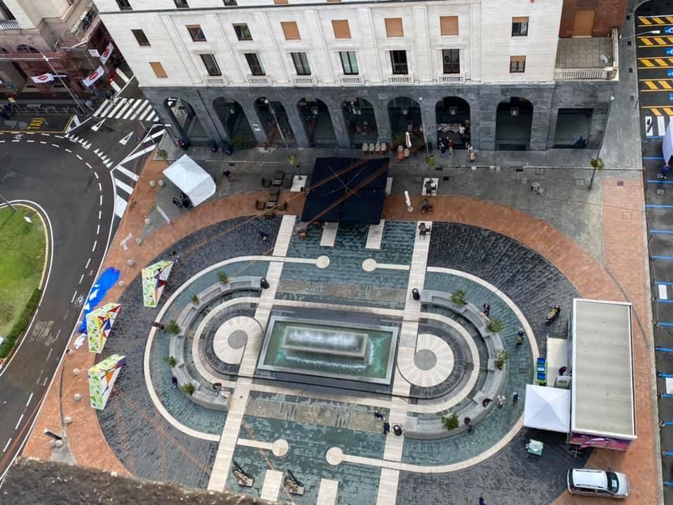 Dentro la Torre Civica di Varese