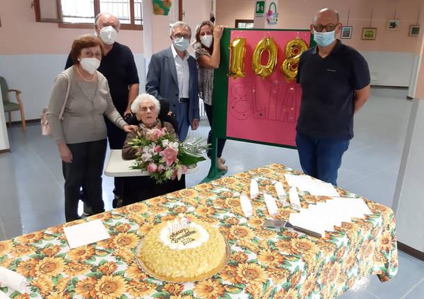 elia buchetti 108 anni parabiago