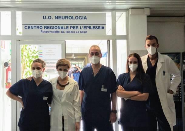 equipe neurologia ospedale di Gallarate