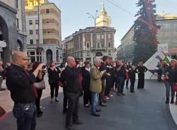Flashmob contro il femminicidio a Varese