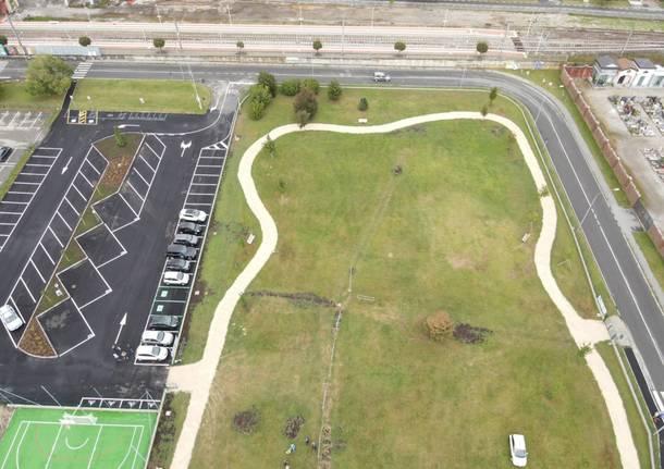 Il nuovo campo sportivo polivalente di Cocquio Trevisago