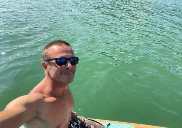 Henrique Meili ed il Suo stand-up paddle