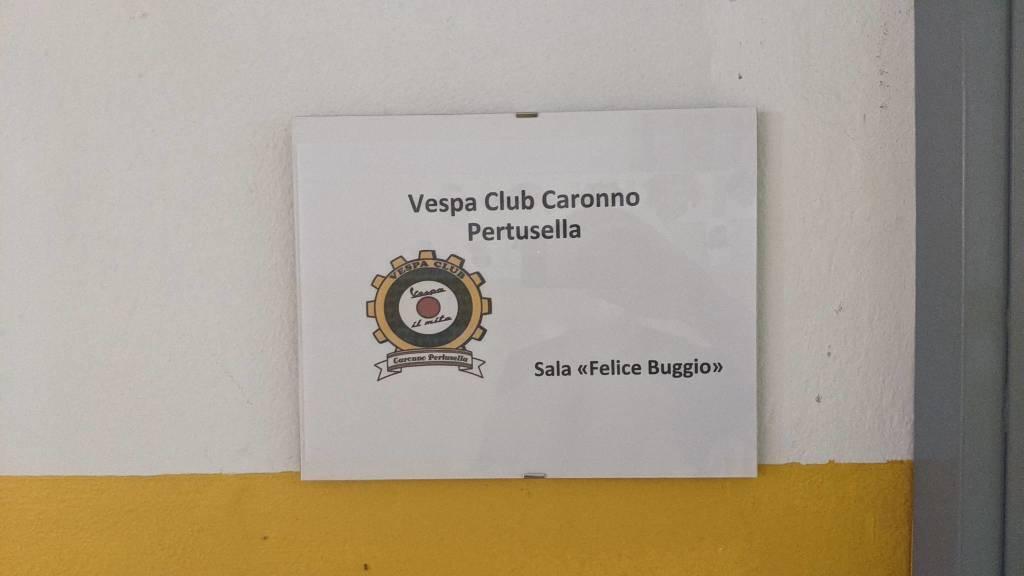 Inaugurata la nuova sede del Vespa Club di Caronno Pertusella