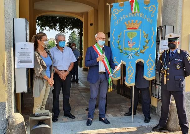 Inaugurazione museo del ciclismo a Parabiago