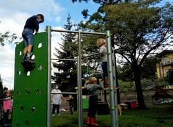 Inaugurazione nuova area giochi asilo Bosto