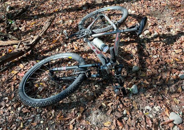 incidente in bici a Nosate