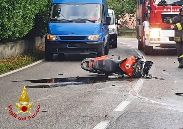 incidente travedona cadrezzate