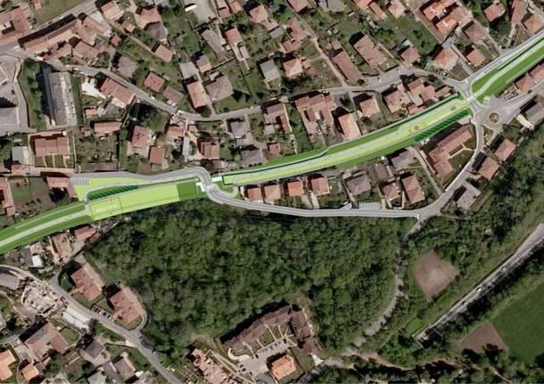 A Induno Olona una pista ciclabile e un parco urbano sul tracciato della vecchia ferrovia