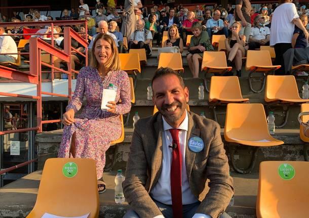 L'apertura della campagna elettorale di Galimberti all'Ippodromo di Varese