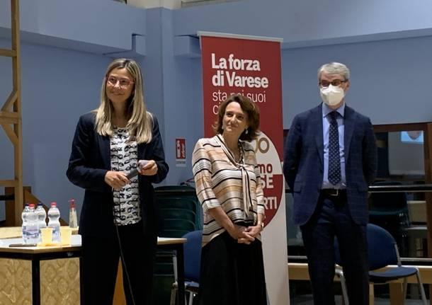 La ministra Elena Bonetti a Varese