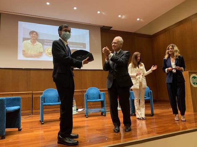 La premiazione del matematico Terence Tao
