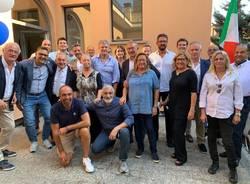 La presentazione della lista di Fratelli d'Italia a Busto Arsizio