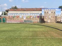 La scenografia al Campo del Palio di Legnano