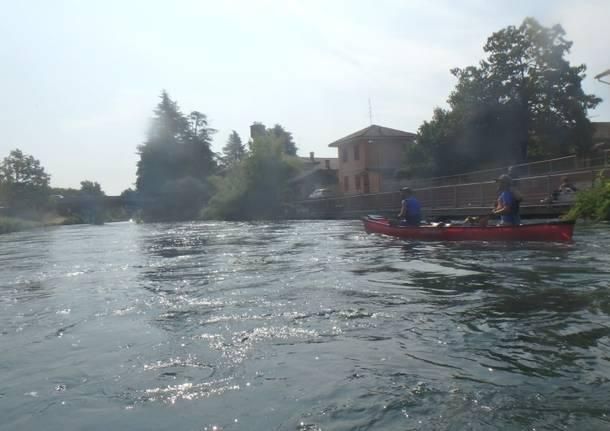 La via dell'acqua in canoa