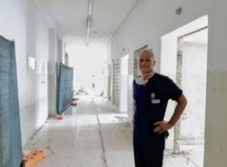 lavori di ristrutturazione della terapia intensiva a Gallarate