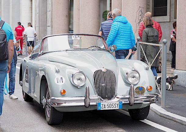 Le auto storiche della Varese Campo dei Fiori