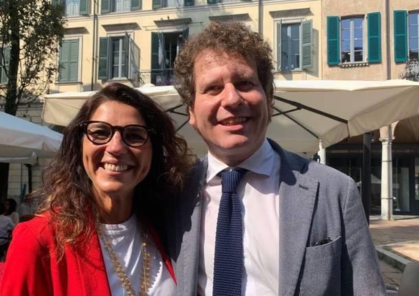 Lega - Francesca Brianza e Matteo Bianchi