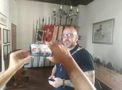 Legnanonews in tour nei manieri del Palio di Legnano