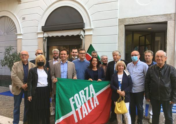 Licia ronzulli e giacomo calendo a gallarate Andrea Cassani Forza Italia