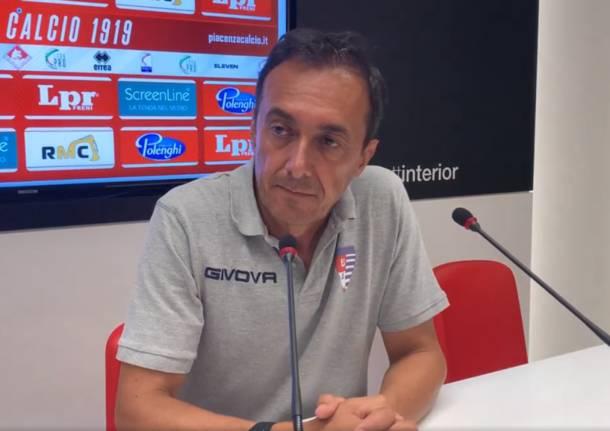 Luca Prina - conferenza stampa