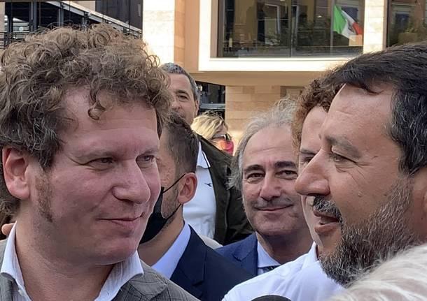Matteo Bianchi e Matteo Salvini
