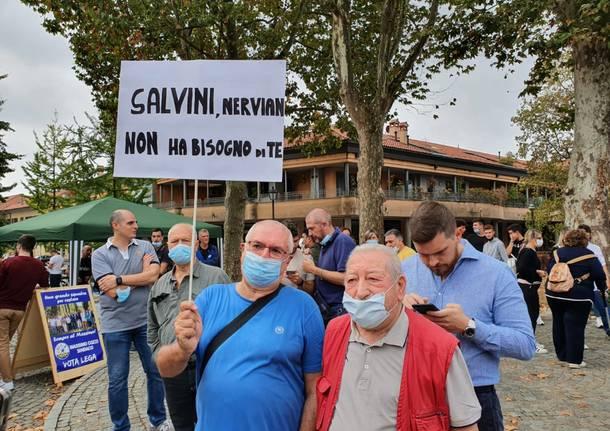 Matteo Salvini a Nerviano